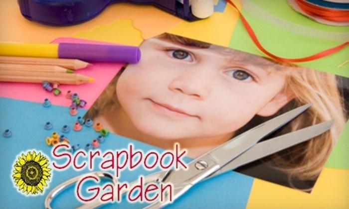 Scrapbook Garden - Wichita: $7 for $15 Worth of Scrapbooking and Craft Supplies at Scrapbook Garden