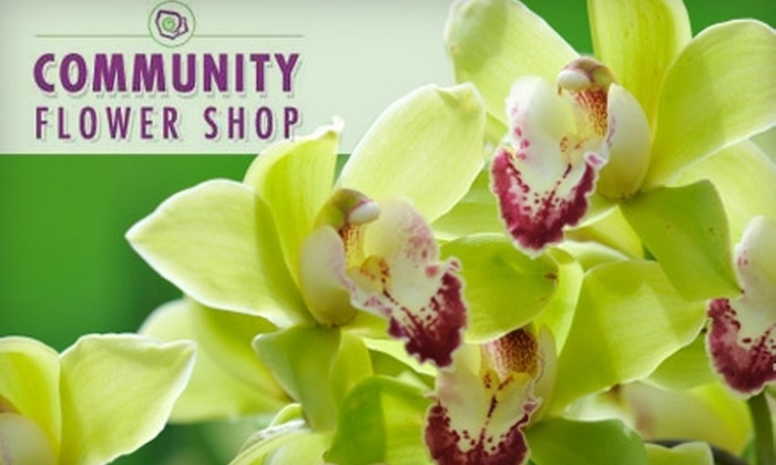 Community Flower Shop - Swissvale: $15 for $35 Worth of Bouquets, Floral Arrangements, and More at Community Flower Shop