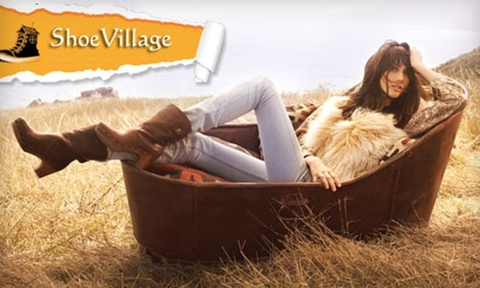 Shoe Village - East Flushing: $25 for $50 Worth of Shoes and Accessories at Shoe Village in Flushing