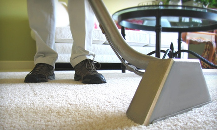 Guaranteed Carpet Cleaning - Kansas City: $49 for Carpet Cleaning in Two Rooms from Guaranteed Carpet Cleaning ($120 Value)