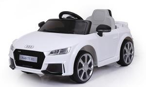 Voiture électrique Audi TT RS pour enfant