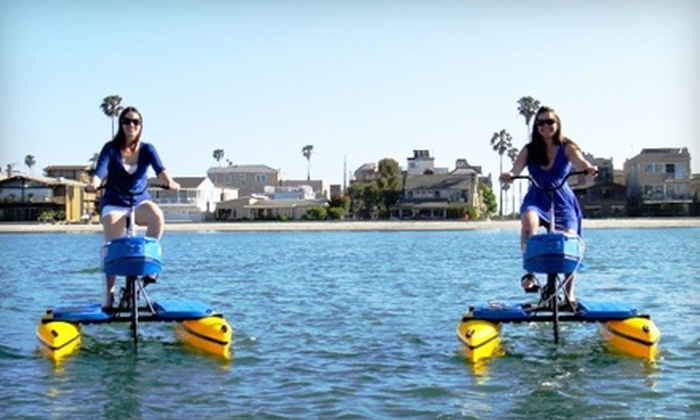 Long Beach HydroBikes - Belmont Shore: $30 for Three Beach Fitness Classes at Long Beach HydroBikes ($90 Value)