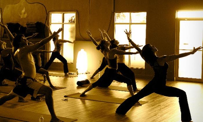 Good Vibration Yoga - Sanford Central Park: 5, 10, or 20 Yoga Classes at Good Vibration Yoga in Sanford (Up to 61% Off)