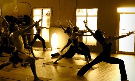 5 Yoga Classes (a $55 value) - Good Vibration Yoga in Sanford