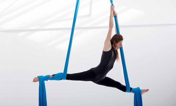 Go Ninja - Kalivas-Union: One 90-Minute Aerial Fitness Circus Workshop for One or Two at Go Ninja (Up to 56% Off)