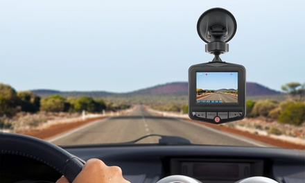 Digital Full HD Dashcam with Built-In Microphone