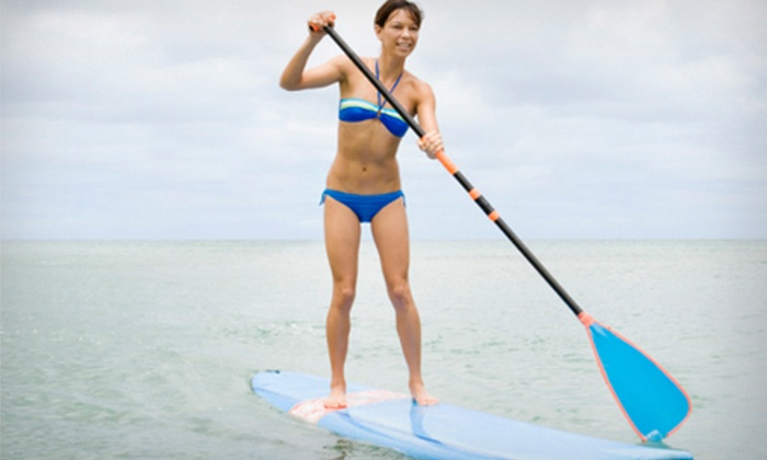Dacane Surf Shop - Halifax: All-Day Stand-Up Paddleboard Rental for One or Two with Wetsuit and Car Rack at Dacane Surf Shop (Up to 79% Off)