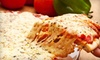 Providence Pizza Company - Federal Hill: $15 for $30 Worth of Pizza, Calzones, and More at Providence Pizza Company