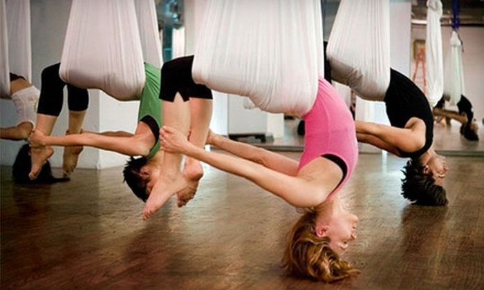OC Pole Fitness - Aliso Viejo: $25 for Two Aerial Fitness or Pole Dancing Classes at OC Pole Fitness (Up to $80 Value)