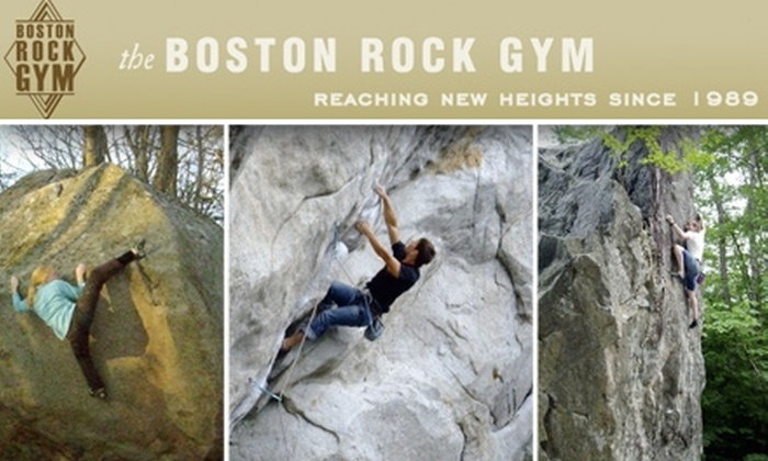 Boston Rock Gym - Woburn: $60 for a Full-Day Outdoor Rock-Climbing Course from Boston Rock Gym ($135 Value)