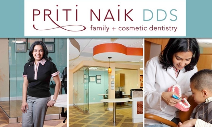 Priti Naik, DDS - Tysons Corner: $59 for Exam, Cleaning, and X-Rays with Priti Naik, DDS