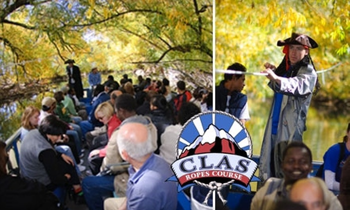 CLAS Ropes Course - Provo: $7 for Two Tickets to the Provo River Halloween Cruise from CLAS Ropes Course ($14 Value)