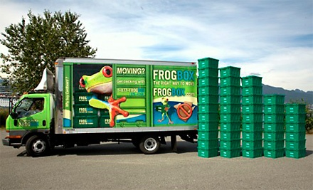 Environmentally Friendly Moving Services for 2 Bedrooms  - Frogbox in
