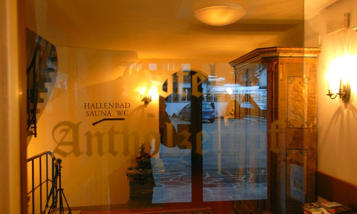 Hotel antholzerhof anterselva bolzano groupon for Hotel mezza pensione bressanone
