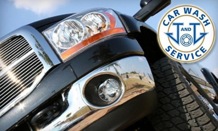 J & J Car Wash - Bridgeport: $6 for a Soft-Cloth, Full-Service Wash at J & J Car Wash (Up to $12.95 Value)