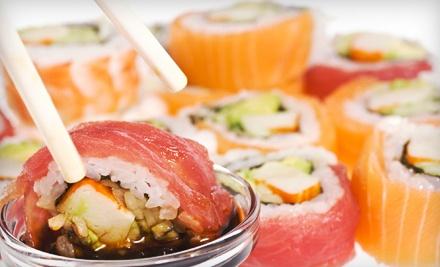$50 Groupon to Murasaki Steakhouse and Sushi Bar - Murasaki Steakhouse and Sushi Bar in Stillwater
