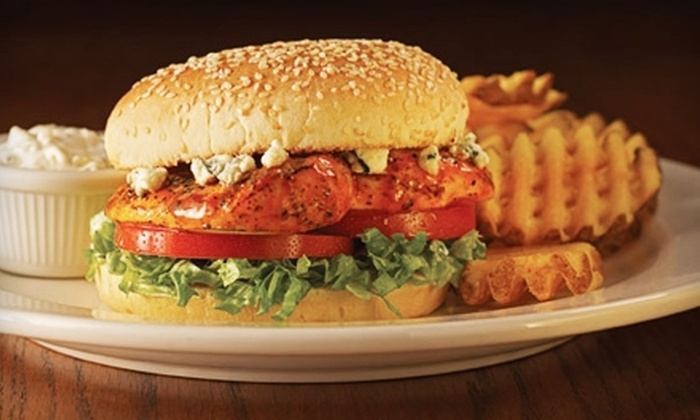 Champps Americana - Northwest Tampa: $10 for $20 Worth of Casual American Fare at Champps Americana
