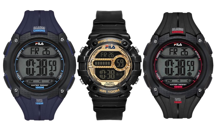 Fila sports watches groupon goods for Fila watches