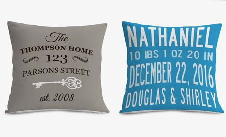 Personalized Cushion Covers from Monogram Online!