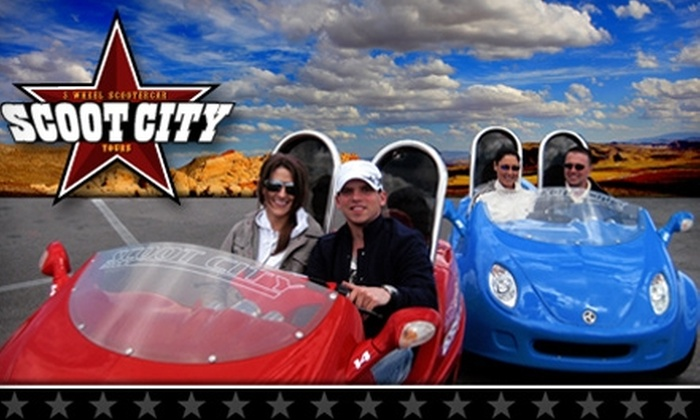 Scoot City Tours - Las Vegas: $125 for a Red Rock Canyon Tour for Two with Scoot City Tours ($250 Value)