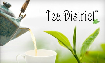 $25 Groupon to Tea District - Tea District in