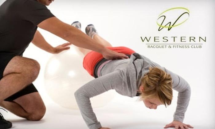 Western Racquet & Fitness Club - Ashwaubenon: $59 for Two-Month Membership at Western Racquet & Fitness Club ($238 Value)