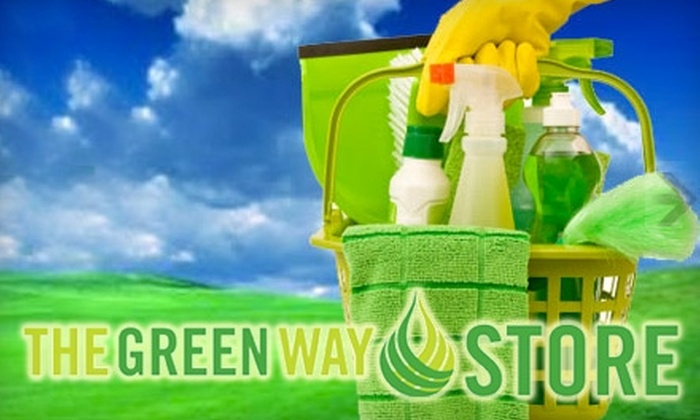 The Green Way Store - Evans: $7 for $15 Worth of Eco-Friendly Cleaning Products at The Green Way Store in Evans
