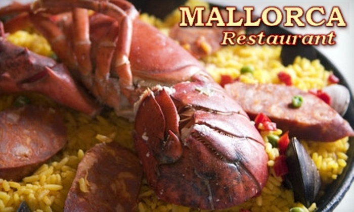Mallorca Restaurant - Southside Flats: $15 for $30 Worth of Upscale Spanish Dinner Fare at Mallorca Restaurant (or $9 for $18 Worth of Lunch Fare)