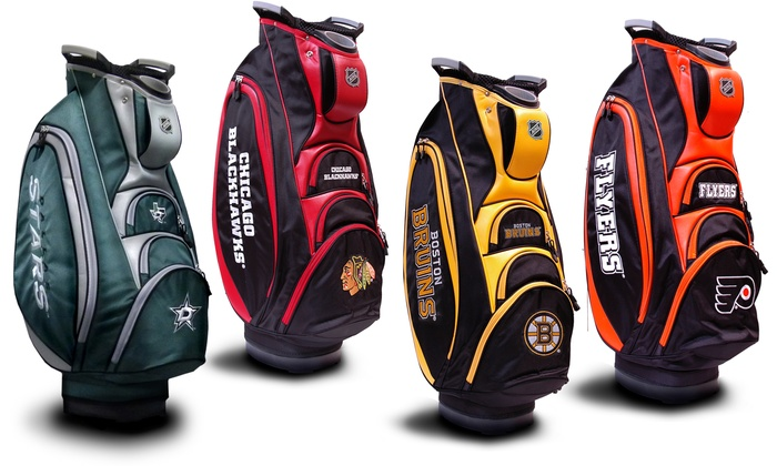 Up To 22 Off On Nhl Victory Golf Cart Bag Groupon Goods