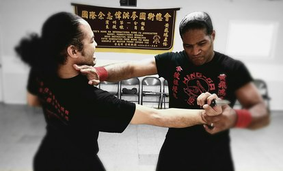 image for One Month of Unlimited Kids' or Teen and Adult Classes at Yee's Hung-Ga Kung Fu Academy (Up to 48% Off)