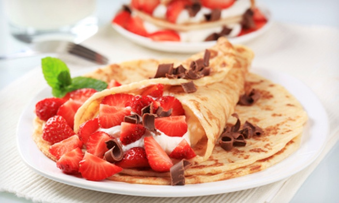 Dutch Oven Bistro - Waterford: Crepes and Drinks for Two or Four at Dutch Oven Bistro (Up to 51% Off)