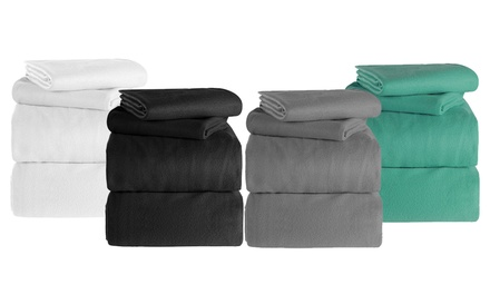 Polar Fleece Sheet Set: Single $19, King Single $24, Queen $29 or King Size $35
