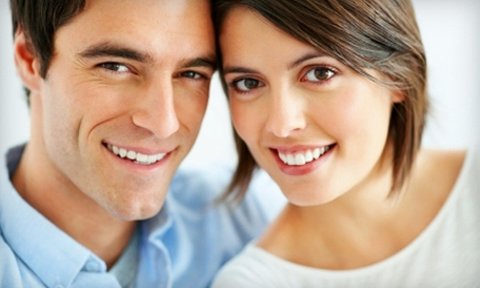 Smile Center of Knightsville - Summerville: $150 for In-Office Teeth Whitening and Take-Home Touch-Up Kit at Smile Center of Knightsville in Summerville ($520 Value)