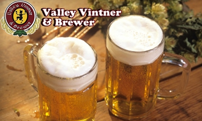 Valley Vintner & Brewer - Downtown: $55 for a Home-Brew Kit and Class at Valley Vintner and Brewer