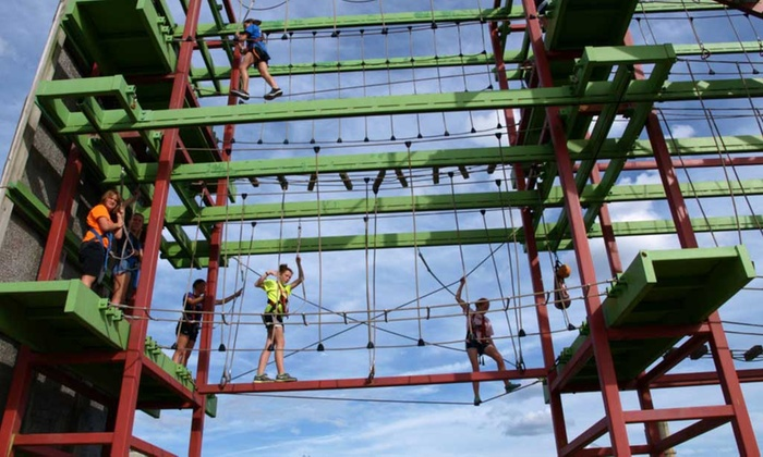 Up to 34% Off Aqua and Aerial Park Admission at Dutch Springs