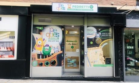 Sesión de odontología infantil a elegir entre 1.ª visita, remineralización o limpieza desde 9,99 € en Pedretti Peques