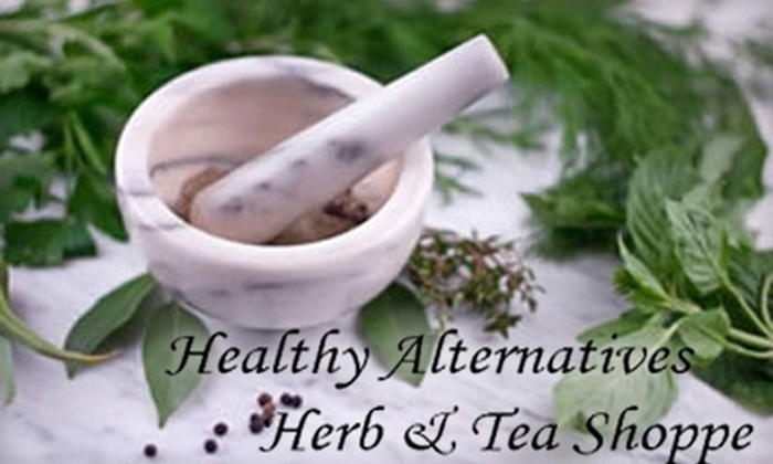 Healthy Alternatives Detox & Natural Supplement Center - Gresham - City Central: $49 for a Consultation, Detox Foot Spa Treatment, and Infrared-Sauna Treatment at Healthy Alternative Detox & Natural Supplement Center