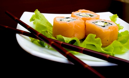 Japanese Meal for Two (up to a $50.90 total value) - Tropical Sushi in Mount Pleasant