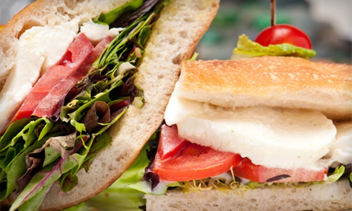 The Cazual Cup - Omaha: $15 for Four Salads or Sandwiches at The Cazual Cup (Up to $31.80 Value)
