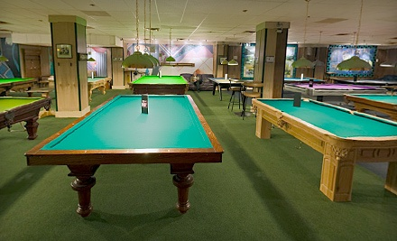 $20 Worth of Billiards Time on a Single Table for Up to 3 Players - Peacock Billiards in Victoria