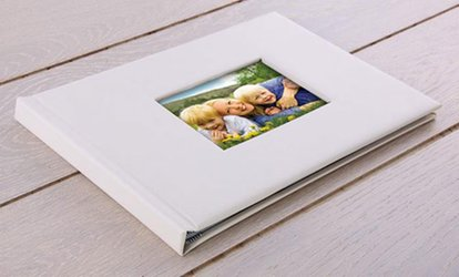 image for A5 or A4 Lorenzo Window Photobook with Up to 100 Pages from Printerpix (Up to 75% Off)