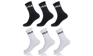 Lot chaussettes tennis Fila