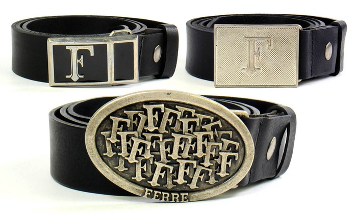 9cf8f5cfe5c Ceintures cuir Gianfranco Ferré