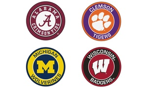 "Fanmats NCAA 27"" Machine Washable Roundel Mat"