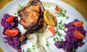Bułka: Kolacja: zupa i danie główne dla 2 osób za 39,99 zł i więcej w Restauracji Bułka (do -48%)