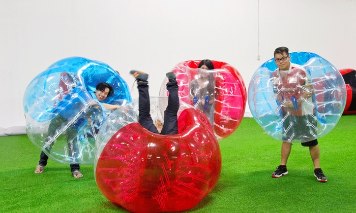 PVP Sports - PVP Sports: Two-Visit Package with Archery, Bubble Soccer and Nerf Games for One, Two, or Four at PVP Sports (Up to 55% Off)