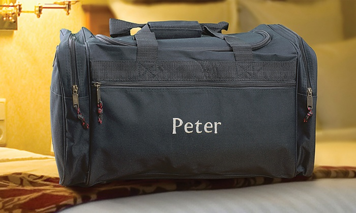 Personalized Duffel Bag: Personalized Duffel Bag