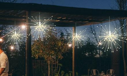 Fino a 3 luci a forma di fuochi d'artificio