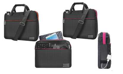 Groupon Messenger Bag Briefcase Sleeve Carrying Case For 14 15 6 Laptop