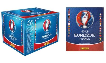 100 packs of euro panini stickers